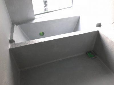 山梨県 浴室防水工事 リボール防水工事