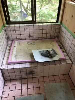 左官 浴室リフォーム